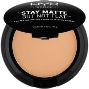 NYX PROFESSIONAL MAKEUP Stay Matte Not Flat Powder Foundation Caramel
