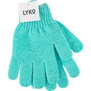 Lyko Scrub Glove Turquise