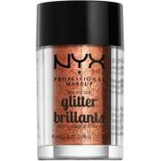NYX PROFESSIONAL MAKEUP Face & Body Glitter - Copper