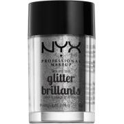 NYX PROFESSIONAL MAKEUP Face & Body Glitter - Silver