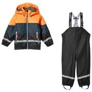 Tenson Galactic Rain Set Orange 98/104 cm