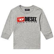 Diesel Division Baby Long Sleeve Tee Grey 9 months