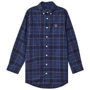 GANT Small Shield Shirt Blue & Navy 122-128cm (7-8 years)